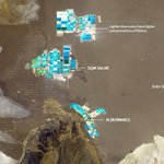 Image for the Tweet beginning: The Salar, a basin in