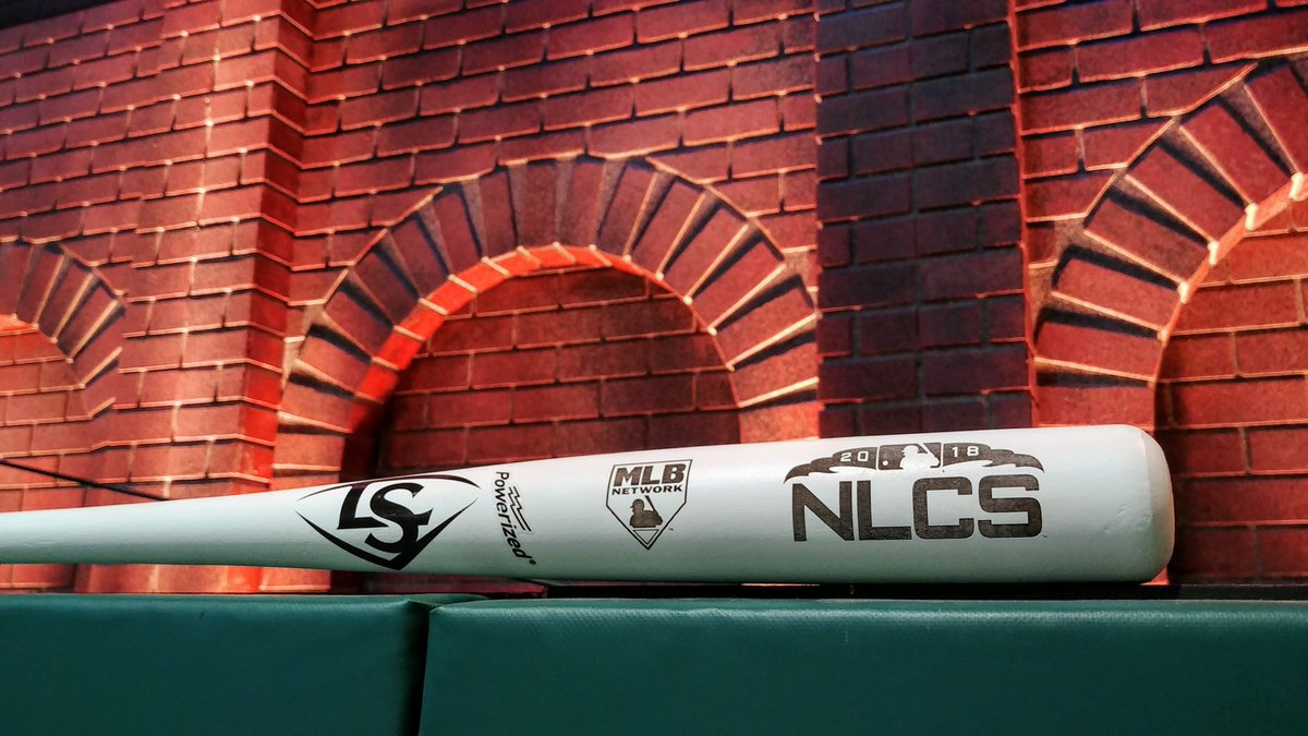 It's a must-win game for the Brew Crew!  RETWEET for a shot at this @sluggernation bat and get ready for Game Six of the #NLCS with #MLBTonight at 6pm ET.