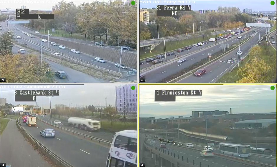 test Twitter Media - *NEW* ⚠️17:25  #A814 E/B from BP filling station Castlebank Street to #M8 E/B J19 onslip - Earlier RTC on the slip which has now been moved to the hard shoulder has left a backlog of traffic 👎 Expect delays.  @GlasgowCPolice @ScotTranserv https://t.co/LVCHFA6wXP