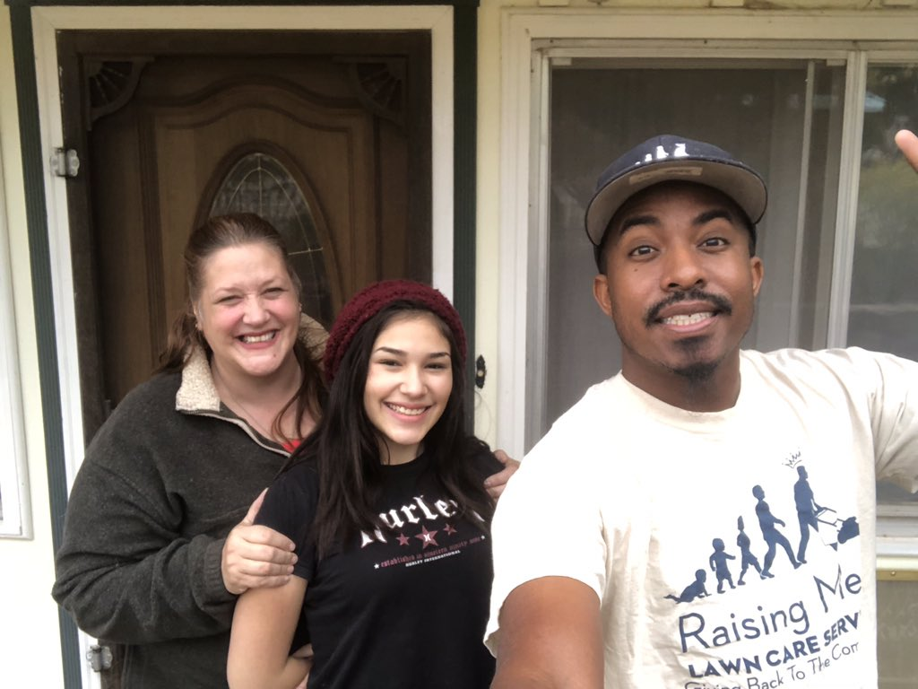 I had the pleasure of mowing Ms. Tuttles lawn for her & her daughter in Jemez Springs,NM. Its a very rural area . She said its hard getting anyone to come out here to help with the lawn since its so far out . Glad I could make her day . Making a difference one lawn at a time