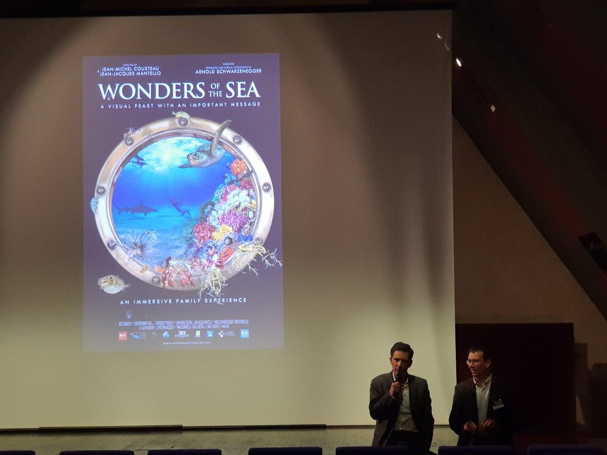 Lancement de la soirée #WonderOfTheSea by @SopraSteria partenaire du @GroupeLDV #Sens #Ethique du travail #environnement @GreenCrossInt  - FestivalFocus