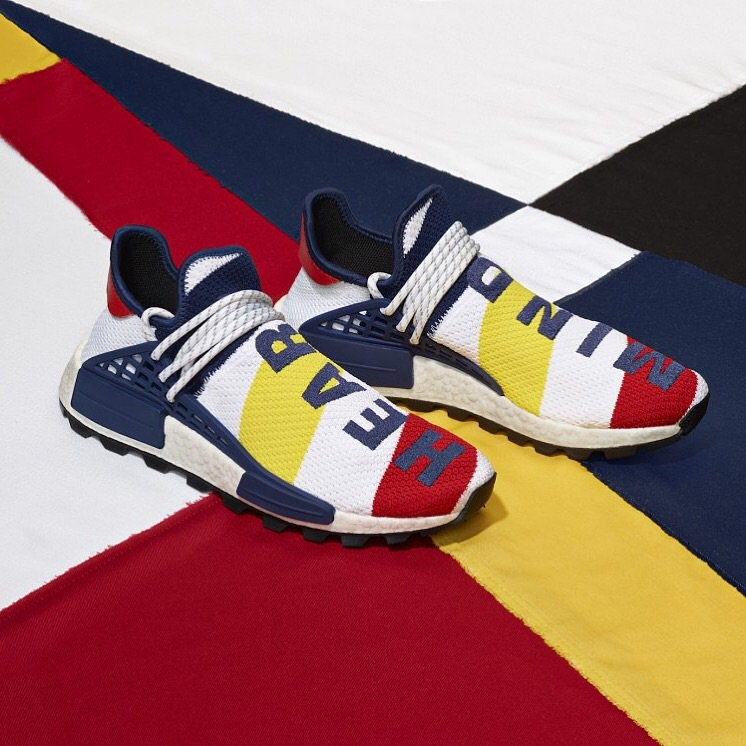 3651e9d34ac7 ... adidas Originals Pharrell Williams BBC Hu NMD is being held TODAY  (10 18) in our New York location until 6 00PM   Newbury Street until 7 00PM  • Valid ID ...