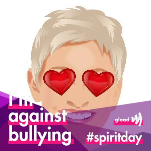 It's #SpiritDay. Let me see your purple. #BeKindToOneAnother