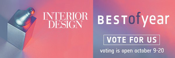 Voting for the @InteriorDesign Magazine's 'Best of Year' awards ends on #October 20! Don't forget to vote once a day for Gerflor USA's Creation Exclusive LVT by clicking on the link below and share this message with friends! #interiordesign https://t.co/A98d1qX8DF https://t.co/BVUQ094XKr