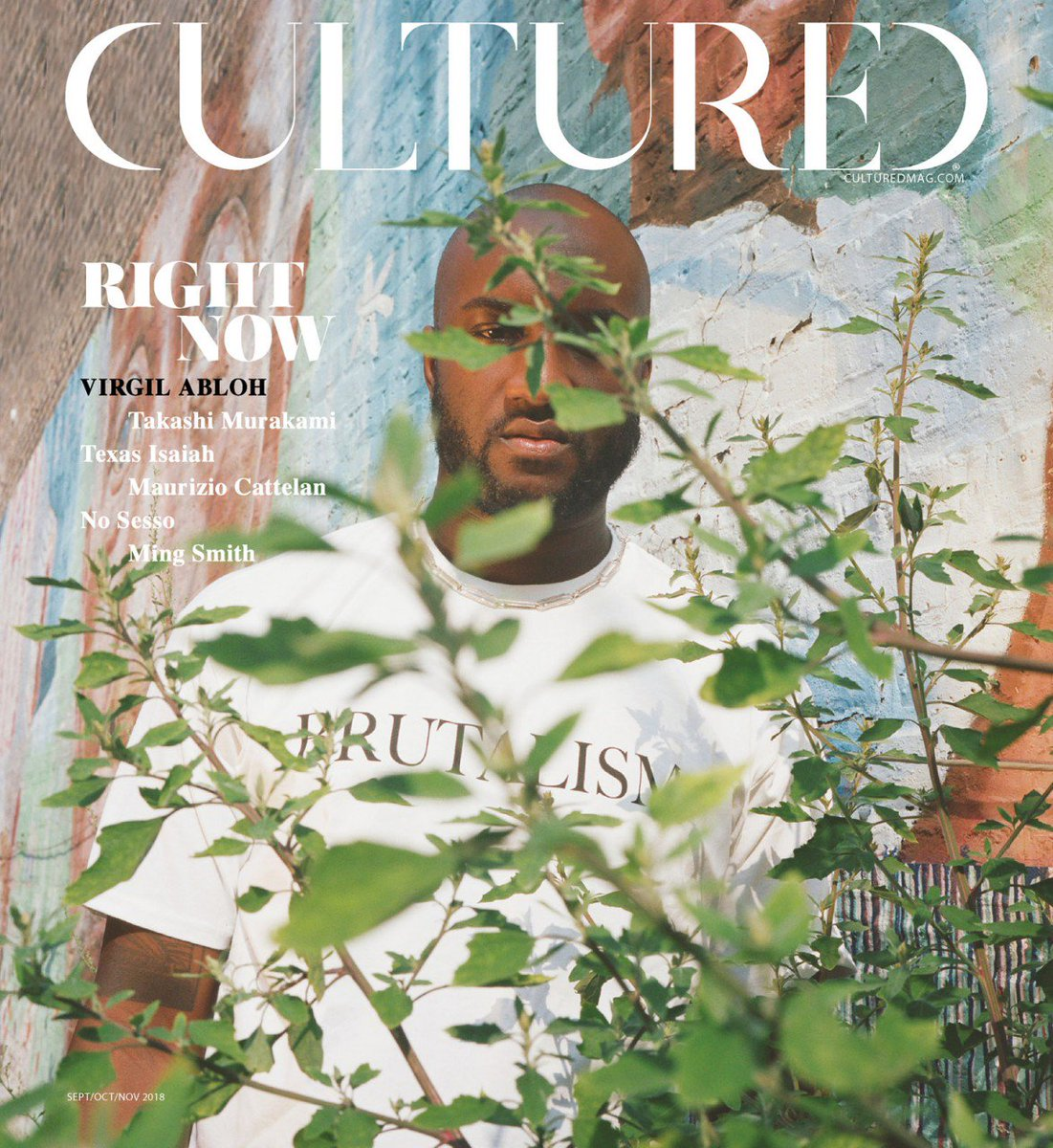Don't forget to check out the 2018 #ImageMakerAward winner @petracollins with her latest cover of @virgilabloh for @CulturedMag. #CanadianArtist #CAFAwards