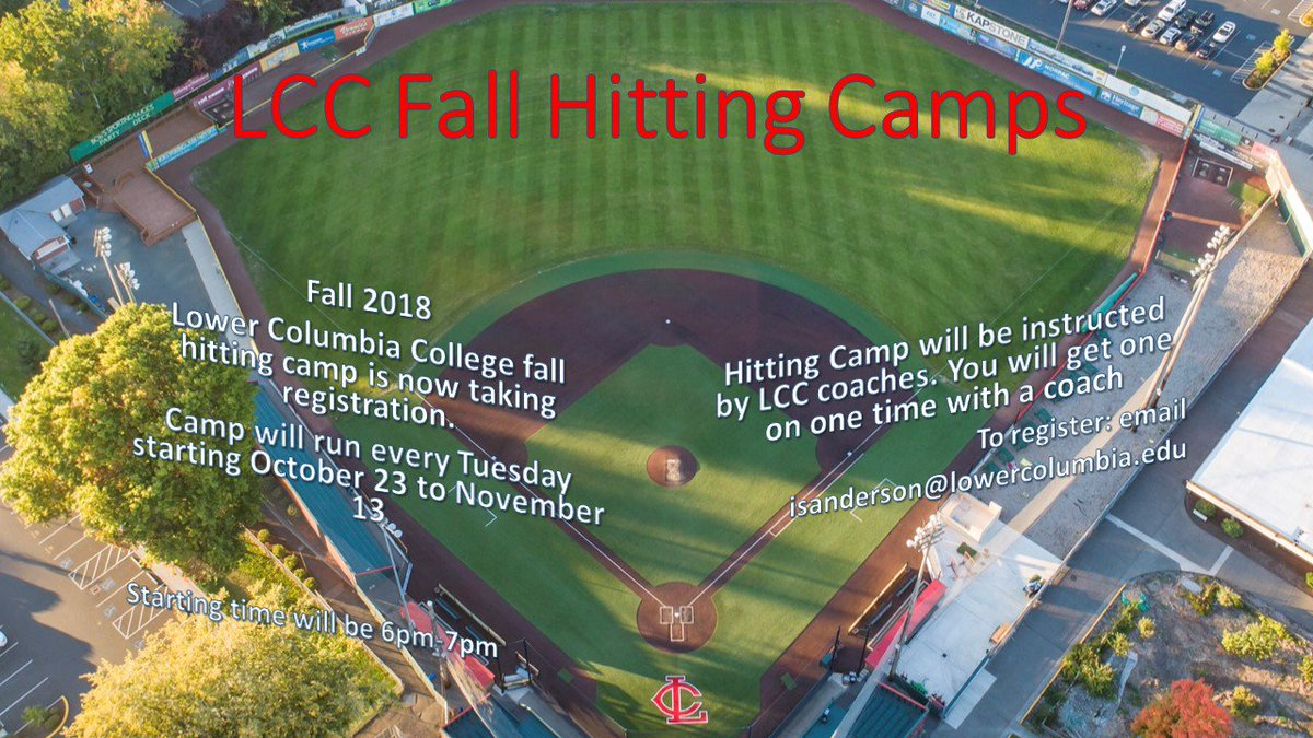 Lower columbia college baseball camp