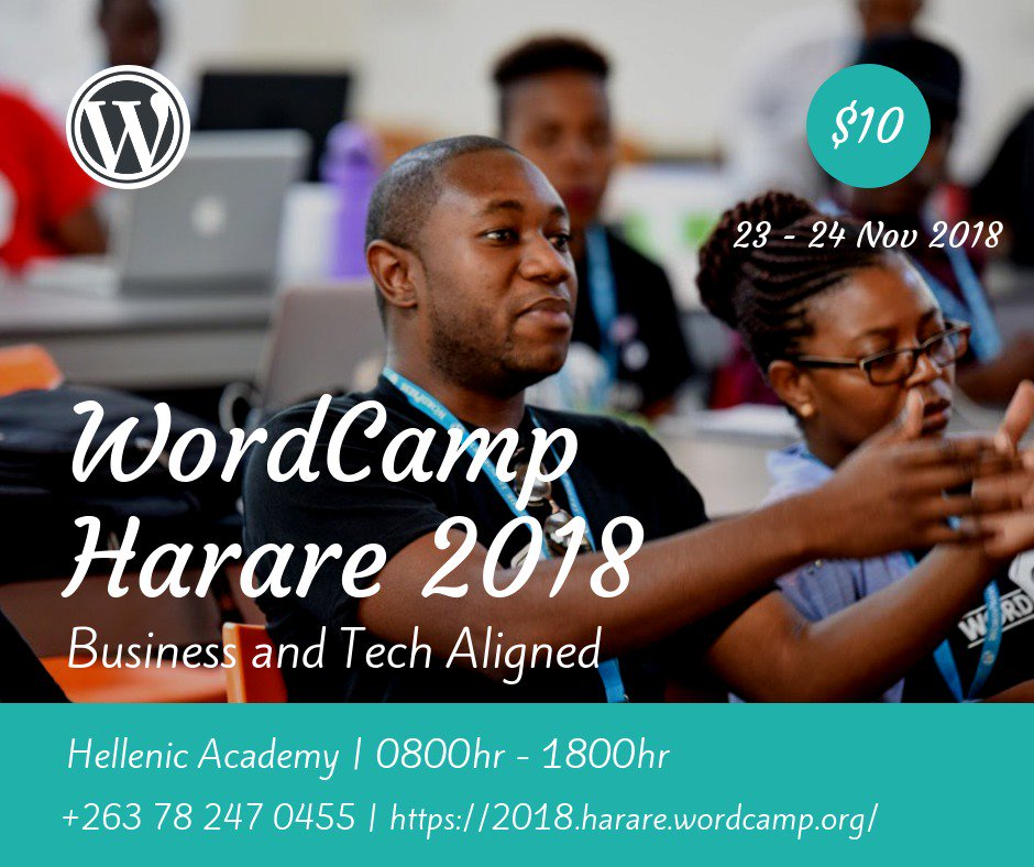 wordcamp harae 2018 Zimbabwe