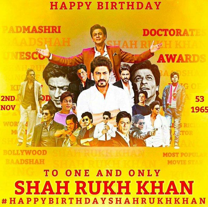 Shah Rukh Khan's Birthday Celebration