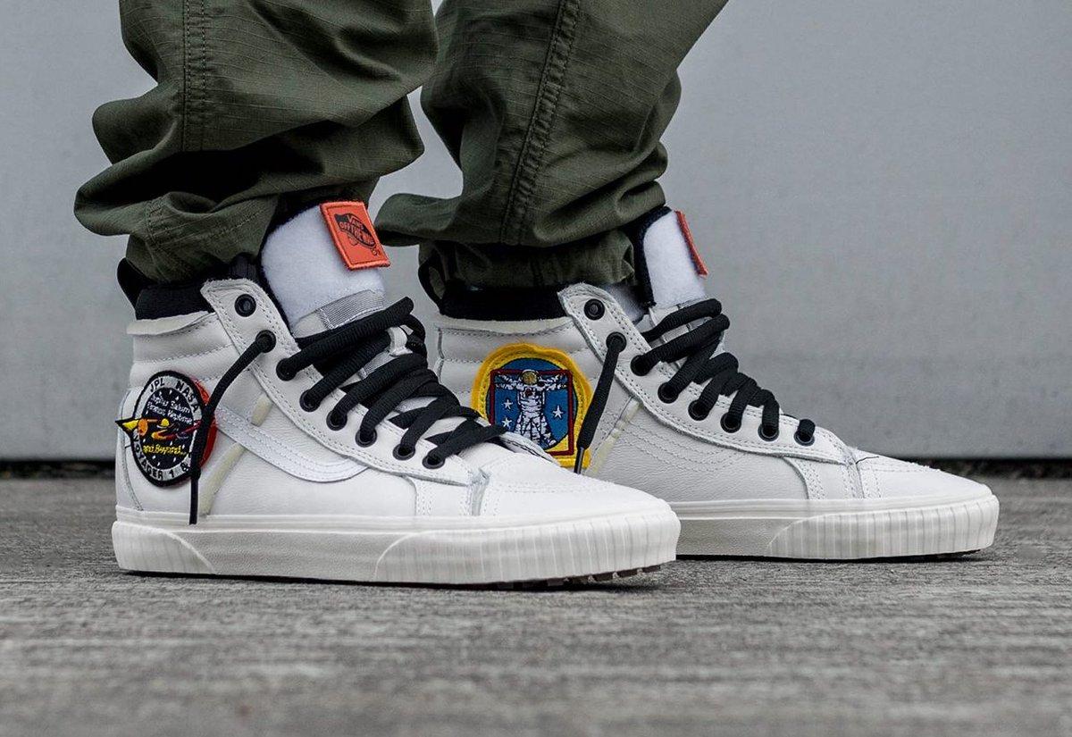 Easy cop NASA x Vans Sk8-Hi