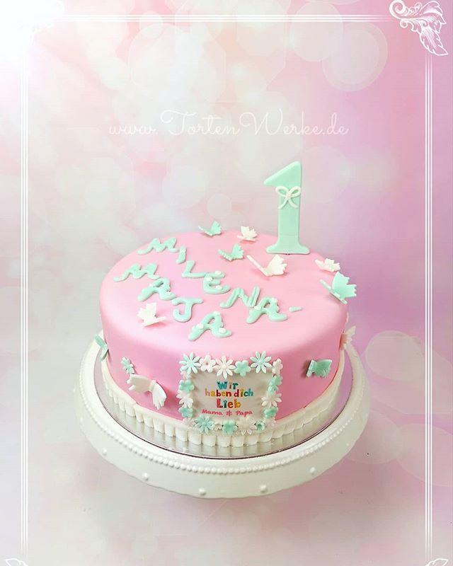 TortenWerke A Twitter Happy 1st Birthday Geburtstagstorte Geburtstag Birthdaycake Erstergeburtstag Firstbirthday