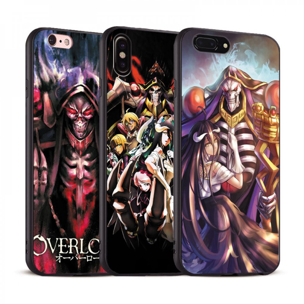 💥 Overlord - Soft Silicone Phone Cases For iPhone (8 Styles) 👌 $8.95 with FREE Shipping! Retweet if you like!    #animemerch #animeshop #anime #otaku #cosplay #AinzOoalGown #Albedo #GreatTombofNazarick #Overlord