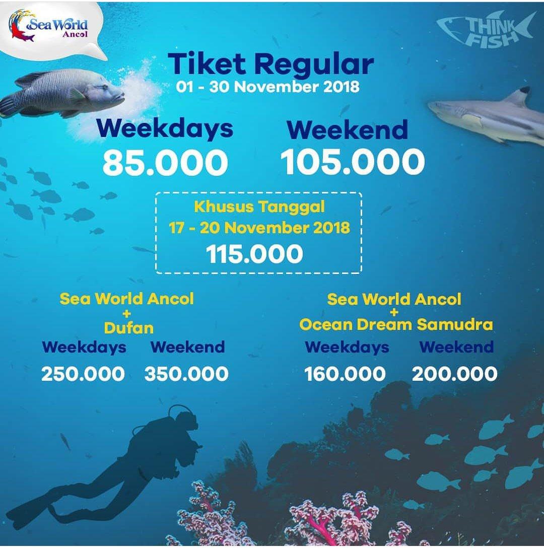 Katalogpromosi On Twitter Seaworld Ancol Promo Info Tiket