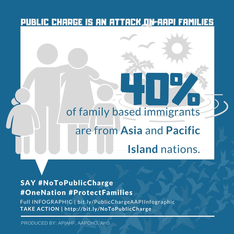 """test Twitter Media - New proposed changes to public assistance, called """"public charge"""" will impact immigrants who rely on health care, food, and housing programs.  Learn more at https://t.co/zs7jzlSbqN #NoToPublicCharge https://t.co/SoTHYZUHdq"""