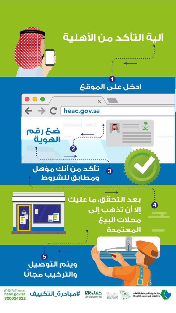 مشاريع السعودية On Twitter انطلاق مبادرة دعم أجهزة التكييف عالية الكفاءة تحت إشراف Namaaksa وتنفيذ Seecsaudi بهدف تقديم مكيفات عالية الكفاءة و بأسعار مخفضة للمواطنين عبر الموقع Https T Co Ecszhzf1ea Https T Co M9spehjl2u