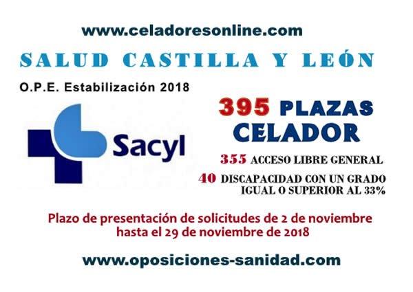 Celadores/as y Auxiliares Administrativos del SACYL en plazo de presentación de instancias hasta el 29-Noviembre-2018... Dq0ZFtbXcAAQsCw