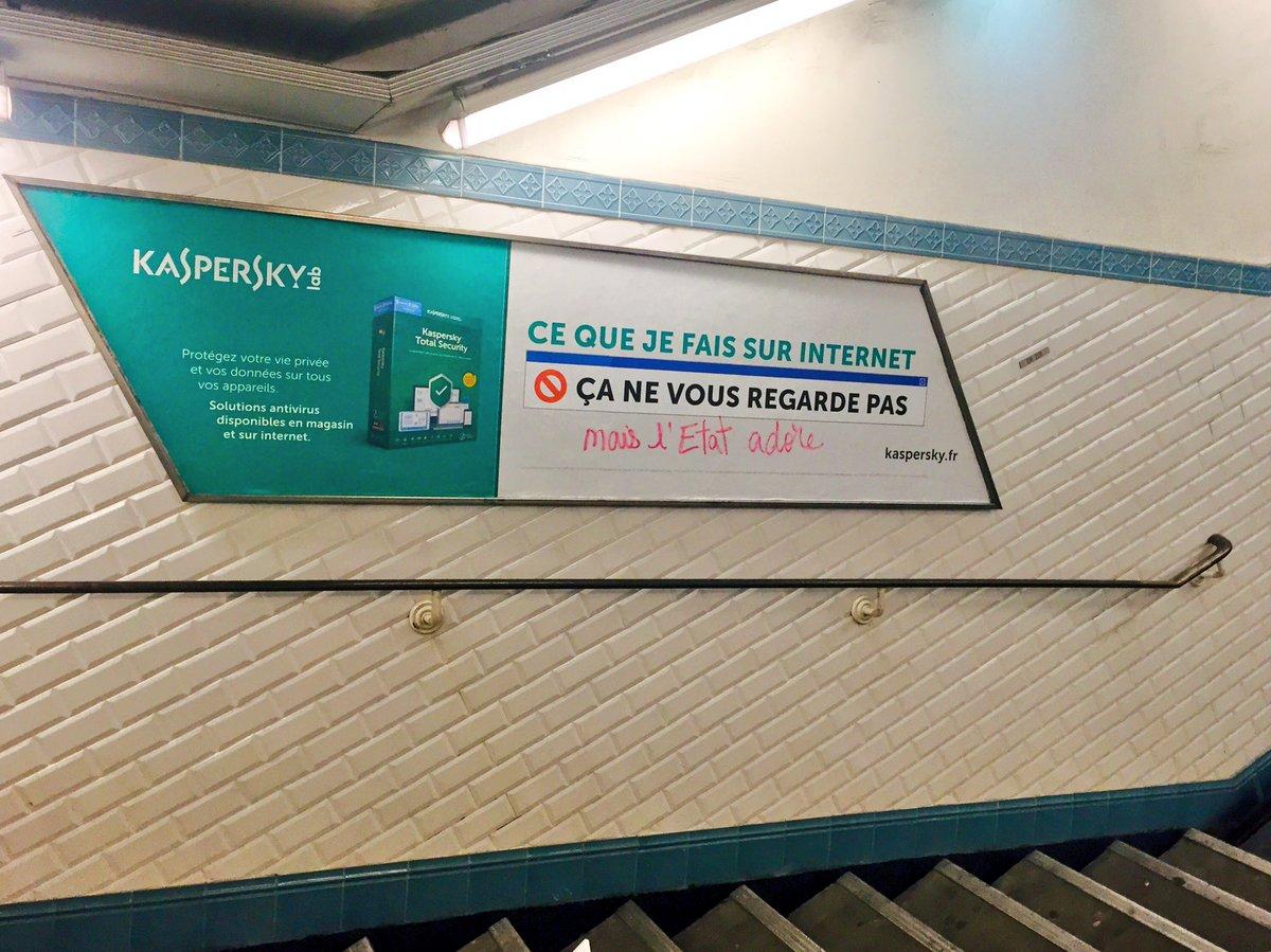 Les commentaires d'affiches publicitaires du métro 😄