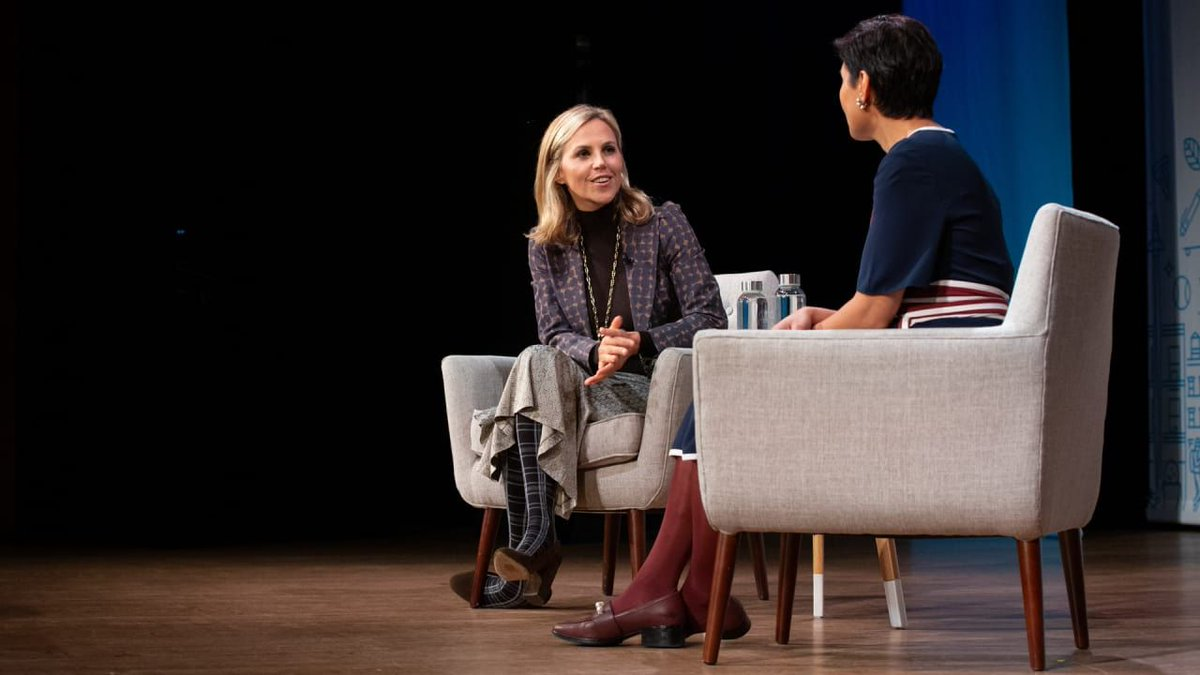 🛍️ @toryburch is on a mission to take the stigma out of ambition: https://t.co/w9ipeOf5ye #FCFestival