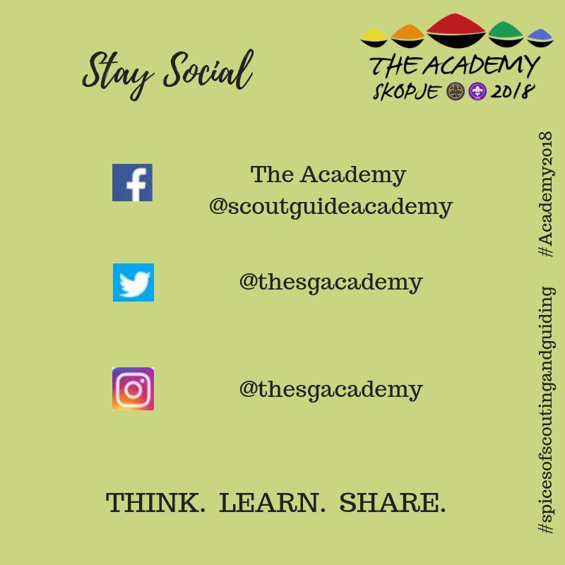 test Twitter Media - The first of this years sessions at the Academy has begun!  #Academy2018. #spicesofscoutingandguiding  Keep up to date with the Academy here>>>> https://t.co/E4G3sS8vTv