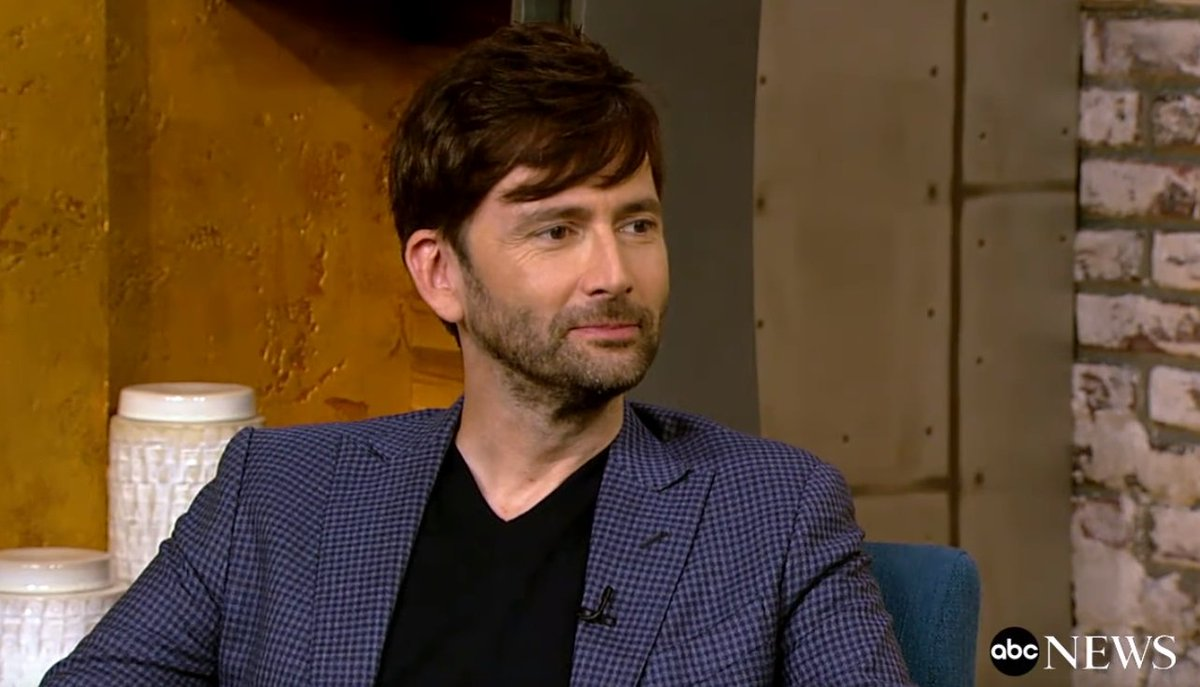 Interview with David Tennant by Popcorn