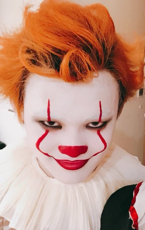"""︎#1 jisung enthusiast on Twitter: """"thankyou for your hardwork mr. zhong  chenle but you still looked so cute in your outfit and makeup THE CUTEST  PENNYWISE IN HISTORY… https://t.co/jOm5U01YSX"""""""