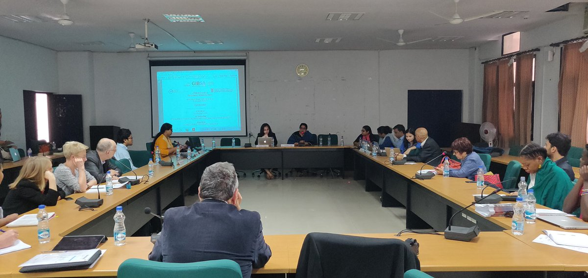IPCS-CIPOD seminar at #JNU this morning on The Evolution of Multilateralism, within the auspices of #GIBSA2018. The selected student-led presentations will later be published as IPCS-CIPOD papers - our thanks to Dr @HappymonJacob & Dr Archna Negi for their facilitation.
