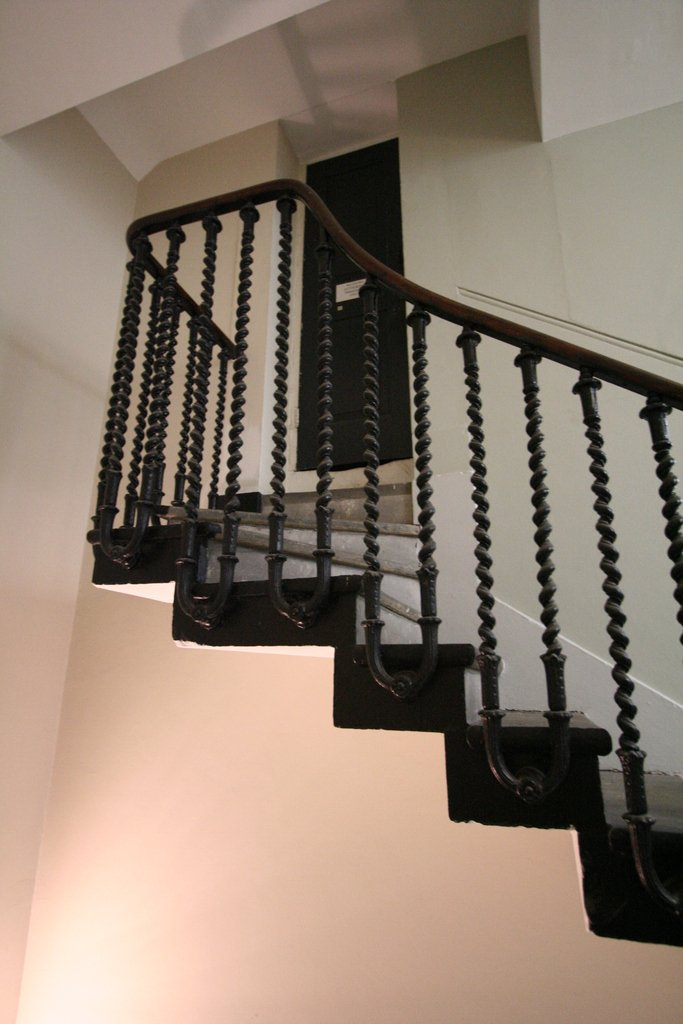 Queen Anne Building, Greenwich  Cantilever staircase #greenwich