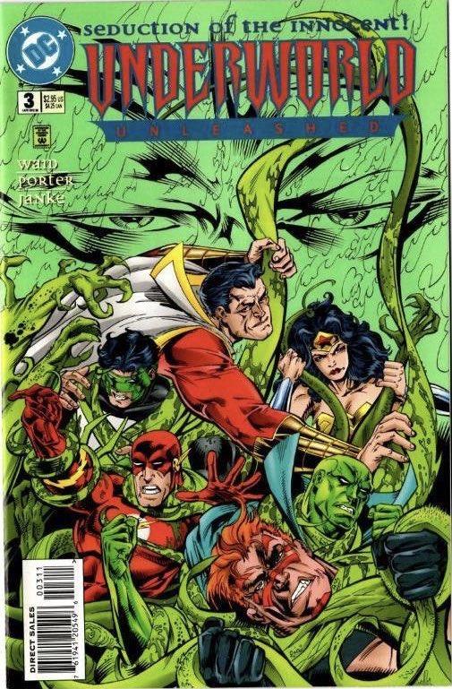 On Sale 23 Years Ago Today... Underworld Unleashed #3 (12/95), purchased at Ravenswood Comics. #UnderworldUnleashed #Neron @MarkWaid @MrHowardPorter @DCComics