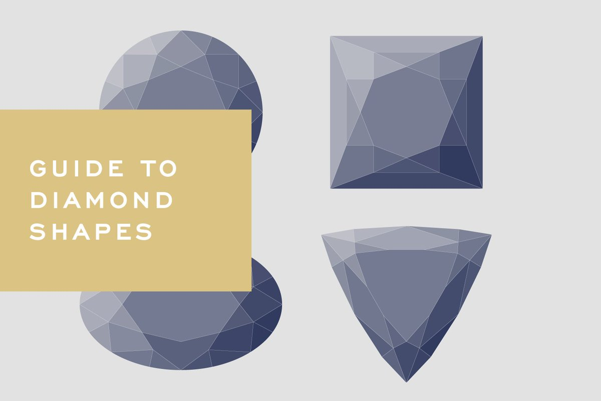Do you have a favorite diamond shape? Here's a peek at the most popular choices.