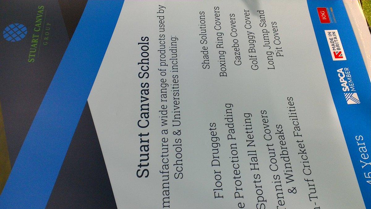 test Twitter Media - Great to see @StuartCanvas displaying the @SAPCA logo on their stand B089 @IOG_SALTEX https://t.co/EVJzl6s90J