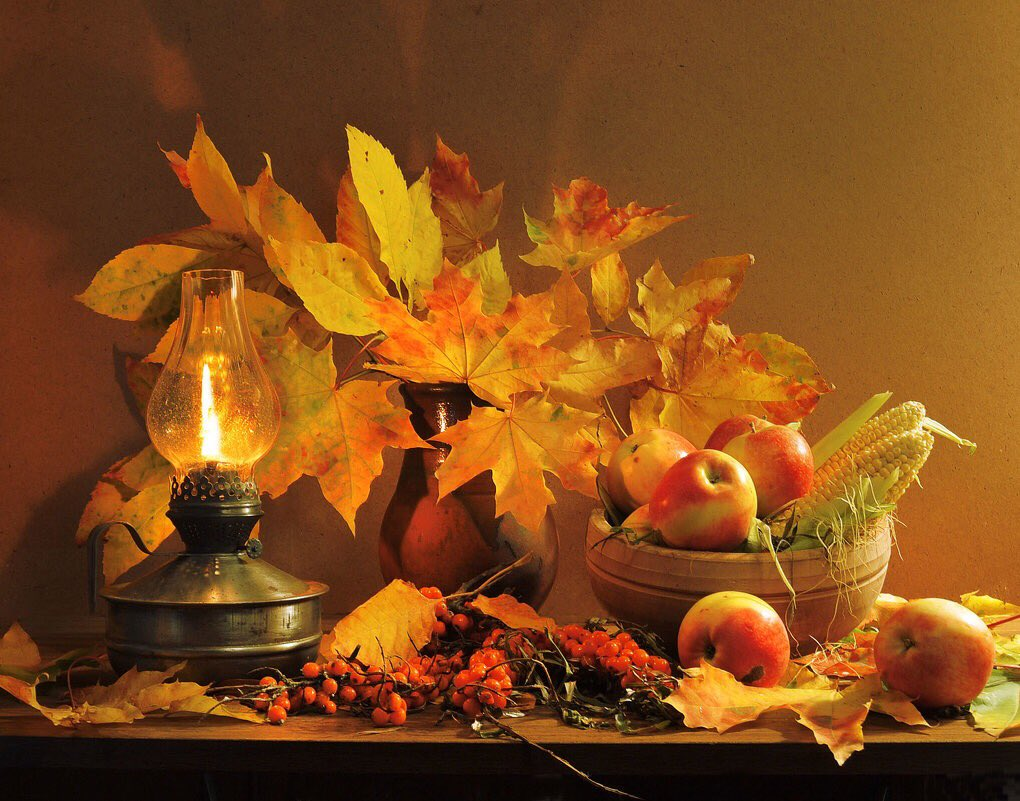 прекрасного осеннего вечера картинка один
