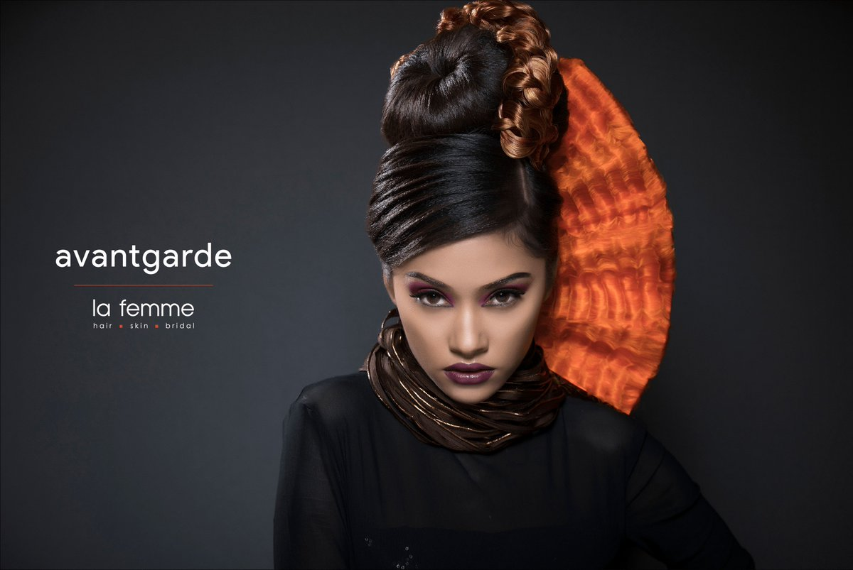 f935349402 la femme India The Enthralling Avantgarde  Avantgarde  Avantgardemakeup   makeup  hairstyle  salonofahmedabad  LaFemme  since1968  forever1968   hairstylist ...