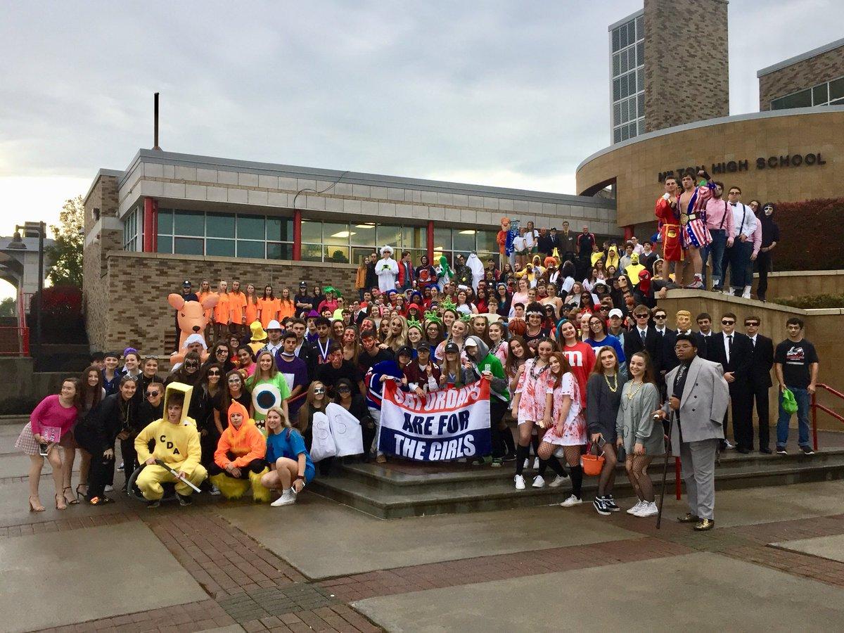 Happy Halloween from the @HiltonCSD @CadetCrew2019 #ClassOf2019