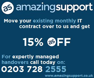🎃 Terrifying THREE DAY IT Support Offer - Get In Touch with us on Witchy Wednesday, Bloodthirsty Thursday or Frightful Friday of this week and get 15% OFF your IT Contract when you move over to us 👻 amzsup.co/2Rsqp8U #HalloweenSpecial #ITSupport #London #Herts