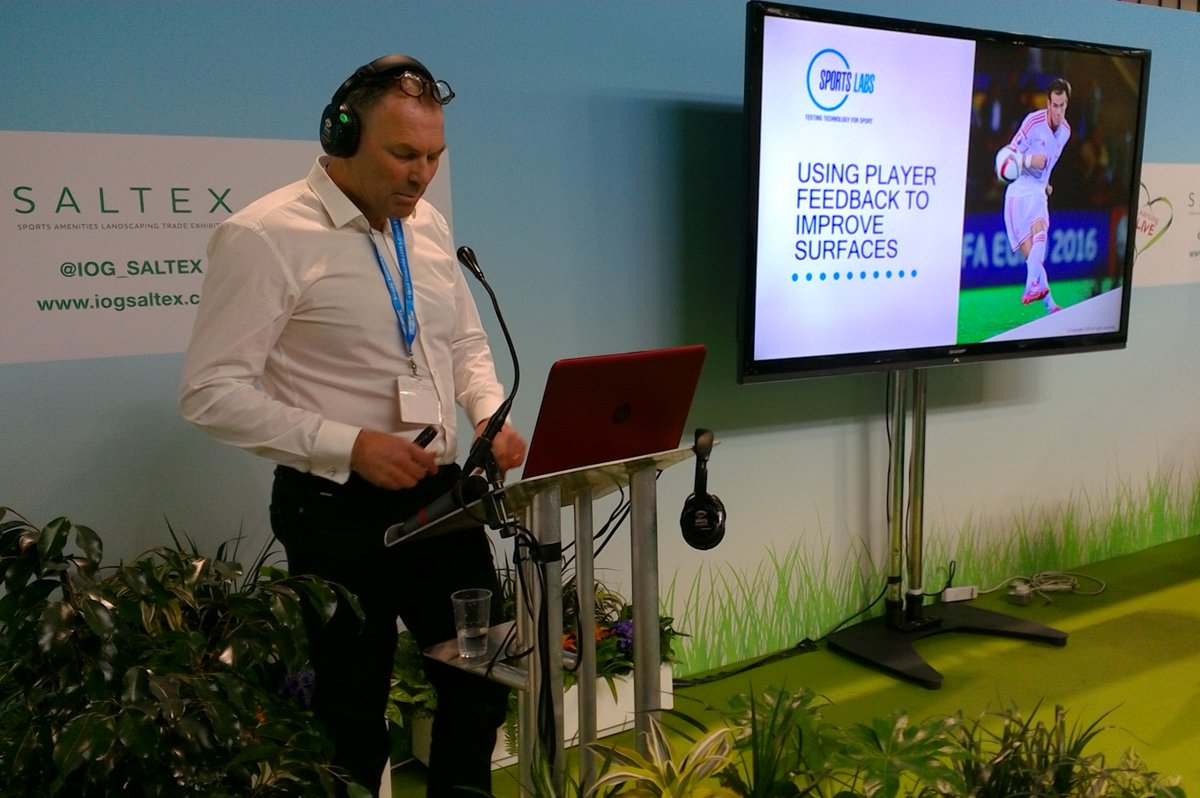 test Twitter Media - Informative session from Eric O'Donnell @SPORTSLABSLTD on the best and worst surfaces in the Scottish game @IOG_SALTEX #SALTEX18 https://t.co/beQJchHzYp #BuildingAnActiveNation https://t.co/qDtbODl6DO