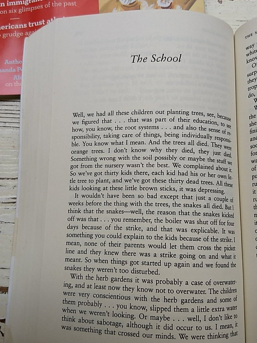 the school barthelme