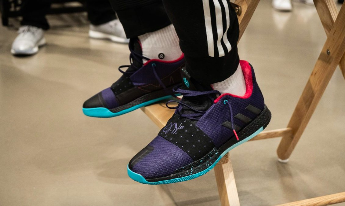 here s a look inside the launch of james harden s adidas harden vol 3 0d8dade86