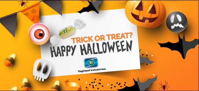Trick or treat! We prefer candies wrapped with transparent NATIVIA® #biobased film. Its the most #sustainable packaging solution for the sweetest treat. Happy #halloween everyone! ow.ly/AZGH30mrkWR