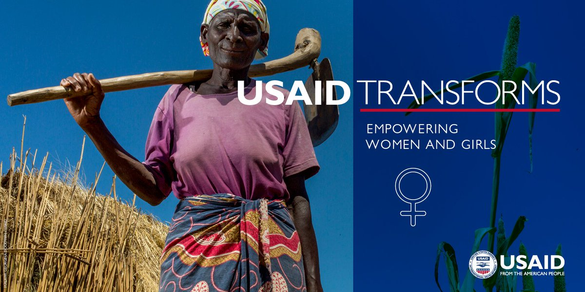 #USAIDTransforms families, communities, and countries by empowering women and girls. https://t.co/6uwNzgIETA
