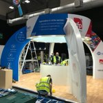 Our stand is going up! See you tomorrow #BrokerExpo
