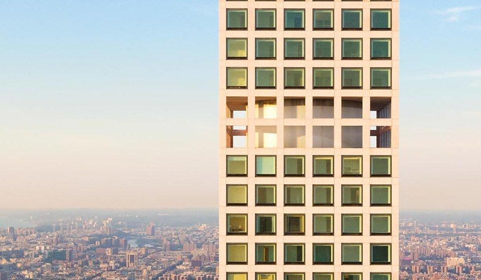 """roy on Twitter: """"El 432 Park Avenue tiene 96 pisos, el último (tiene dueño  y está ocupado) a 392 metros sobre Manhattan. Para mantener tremenda altura  sin que se mueva como un"""