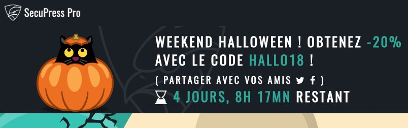 SecuPress fête Halloween