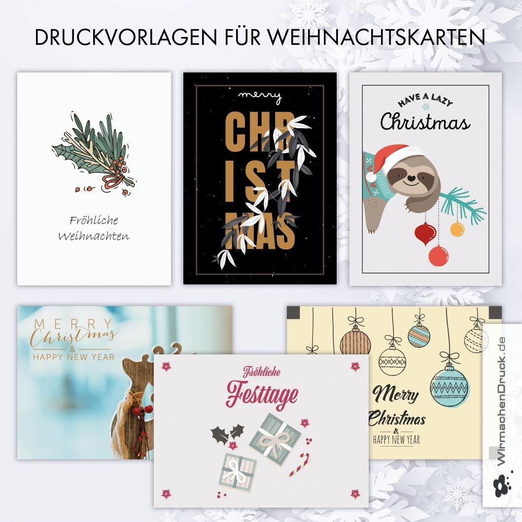 Weihnachtskarten Foto Bestellen.Wirmachendruck De On Twitter Schnell Und Einfach Weihnachtskarten