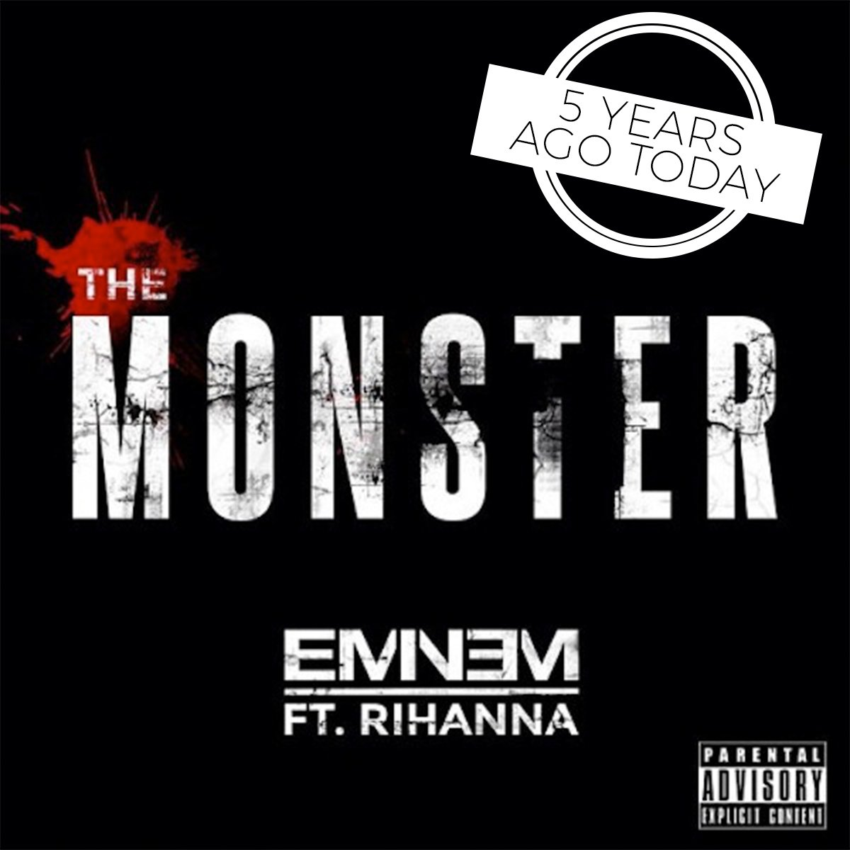 🙌 @Eminem and @rihannas The Monster reached No. 1 5️⃣ years ago today!
