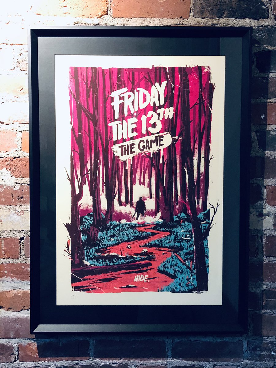We didn't hear back from the person who won this poster, so let's give it away again! RT to enter, winner selected at 5pm tonight (Oct 31st). Good Luck.