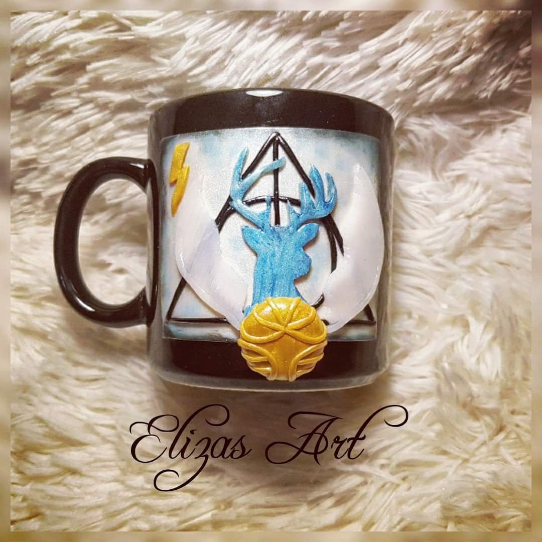 Elisavetjls On Twitter After All This Time Always Harry Potter Handmade Polymer Clay Mug Polymerclayartist Polymerclay Claycreations Fimo Harrypotteruniverse Harrypotter Jkrowling Https T Co Wfwctueshi