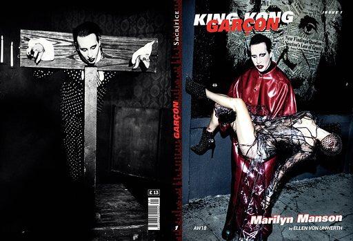 "Marilyn Manson >> álbum ""We Are Chaos"" Dq2TYf-VYAEixvv"