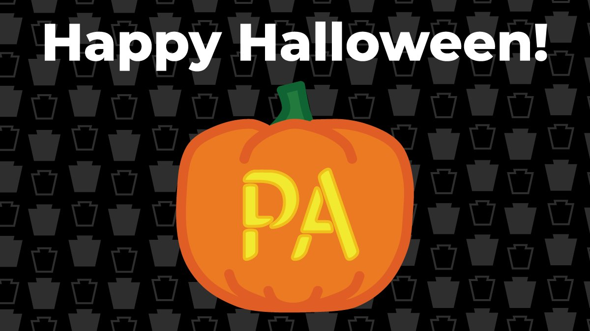 Have a safe and spooky Halloween, PA! 🧟‍♀️🕸👻 #HappyHalloween