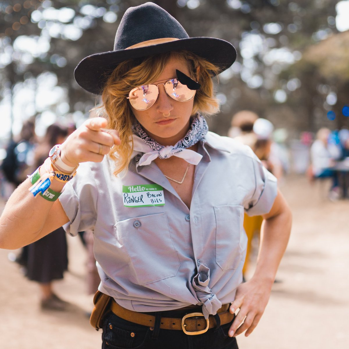 ranger dave is this year's hottest #halloween costume. #outsidelands (📸 by @jerm_cohen and @jackgorlin)