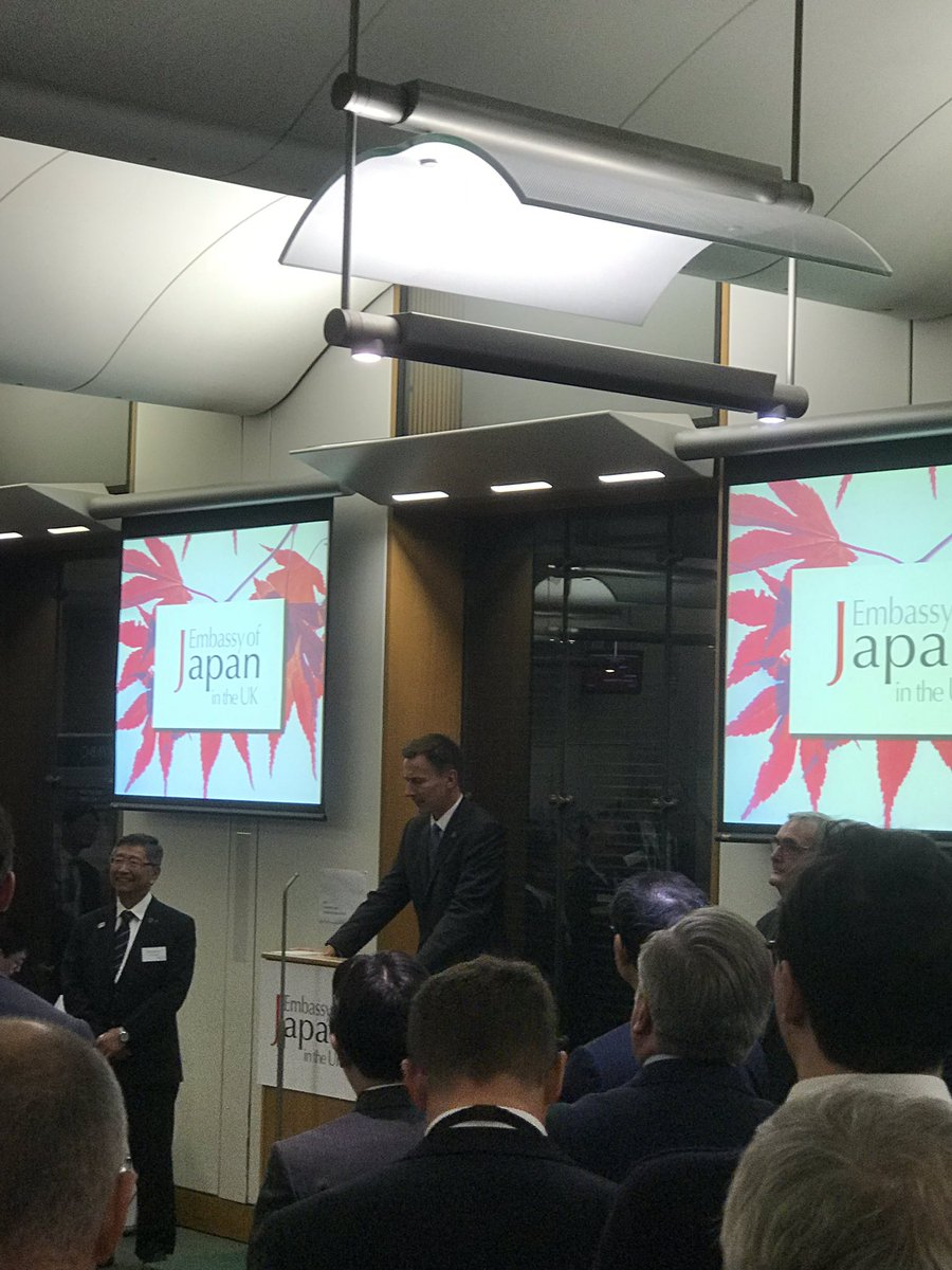 RT @AmbKoji: There are approximately 1000 Japanese companies operating in the UK. #JapanUK https://t.co/dElnXMgbz8