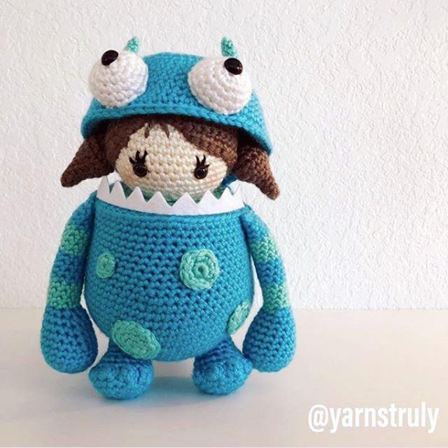 Bug Eyed Monsters amigurumi pattern - Amigurumipatterns.net | 640x640
